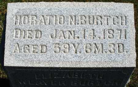 BURTCH, HORATIO N. - Darke County, Ohio | HORATIO N. BURTCH - Ohio Gravestone Photos