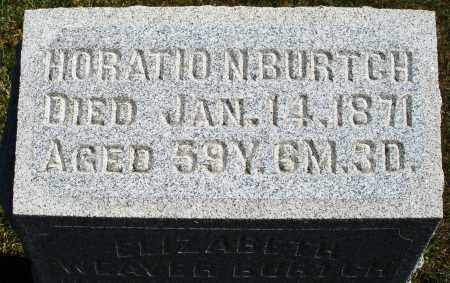 BURTCH, HORATIO N. - Darke County, Ohio   HORATIO N. BURTCH - Ohio Gravestone Photos