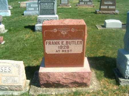 E BUTLER, FRANK - Darke County, Ohio | FRANK E BUTLER - Ohio Gravestone Photos