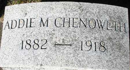 CHENOWETH, ADDIE M. - Darke County, Ohio   ADDIE M. CHENOWETH - Ohio Gravestone Photos