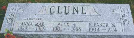 CLUNE, ANNA MAE - Darke County, Ohio | ANNA MAE CLUNE - Ohio Gravestone Photos