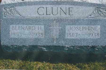 CLUNE, BERNARD HERMAN - Darke County, Ohio | BERNARD HERMAN CLUNE - Ohio Gravestone Photos