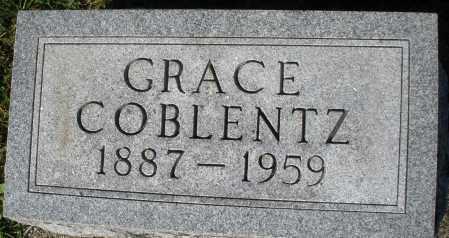 COBLENTZ, GRACE - Darke County, Ohio   GRACE COBLENTZ - Ohio Gravestone Photos