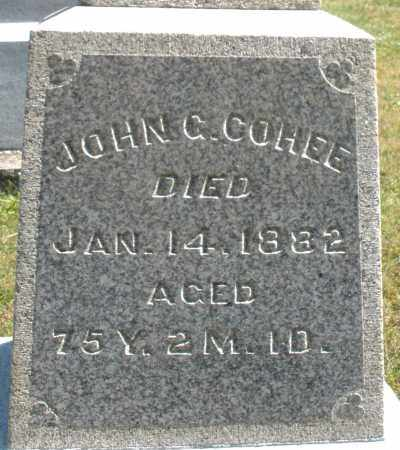COHEE, JOHN - Darke County, Ohio | JOHN COHEE - Ohio Gravestone Photos