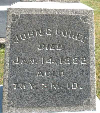 COHEE, JOHN - Darke County, Ohio | JOHN COHEE - Ohio Gravestone Photos