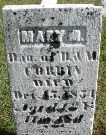 CORBIN, MARY M. - Darke County, Ohio | MARY M. CORBIN - Ohio Gravestone Photos