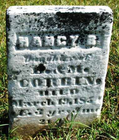 CORBIN, NANCY B. - Darke County, Ohio | NANCY B. CORBIN - Ohio Gravestone Photos
