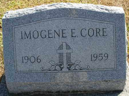 CORE, IMOGENE E. - Darke County, Ohio | IMOGENE E. CORE - Ohio Gravestone Photos
