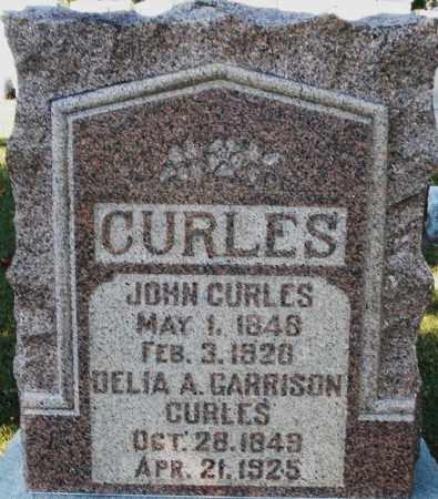 GARRISON CURLES, DELIA A. - Darke County, Ohio | DELIA A. GARRISON CURLES - Ohio Gravestone Photos