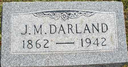 DARLAND, J.M. - Darke County, Ohio | J.M. DARLAND - Ohio Gravestone Photos