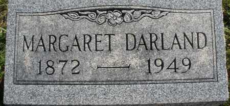 DARLAND, MARGARET - Darke County, Ohio   MARGARET DARLAND - Ohio Gravestone Photos