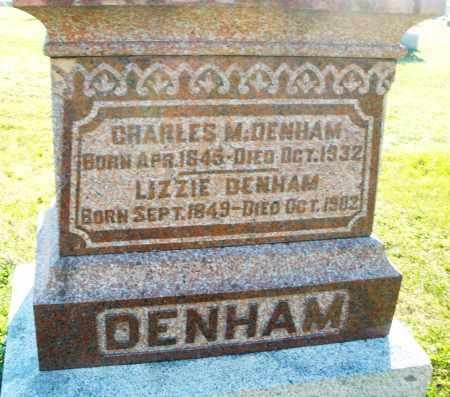 DENHAM, CHARLES M. - Darke County, Ohio | CHARLES M. DENHAM - Ohio Gravestone Photos