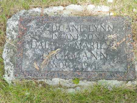 DICKMAN, DUANE LYNN - Darke County, Ohio   DUANE LYNN DICKMAN - Ohio Gravestone Photos