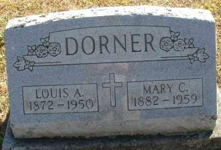 DORNER, MARY C. - Darke County, Ohio | MARY C. DORNER - Ohio Gravestone Photos