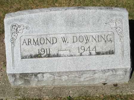 DOWNING, ARMOND W. - Darke County, Ohio | ARMOND W. DOWNING - Ohio Gravestone Photos