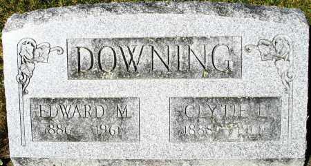 DOWNING, EDWARD M. - Darke County, Ohio   EDWARD M. DOWNING - Ohio Gravestone Photos