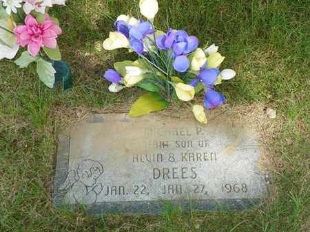 DREES, MICHAEL P. - Darke County, Ohio | MICHAEL P. DREES - Ohio Gravestone Photos