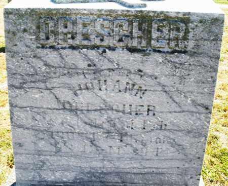DRESCHER, JOHANN - Darke County, Ohio | JOHANN DRESCHER - Ohio Gravestone Photos