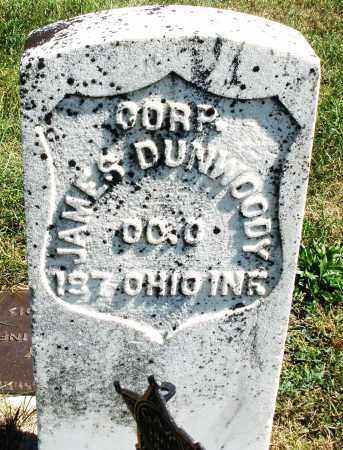 DUNWOODY, JAMES CORP. - Darke County, Ohio | JAMES CORP. DUNWOODY - Ohio Gravestone Photos