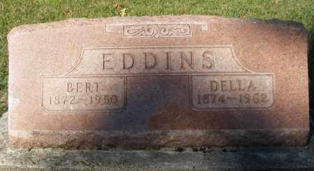 EDDINS, DELLA - Darke County, Ohio | DELLA EDDINS - Ohio Gravestone Photos