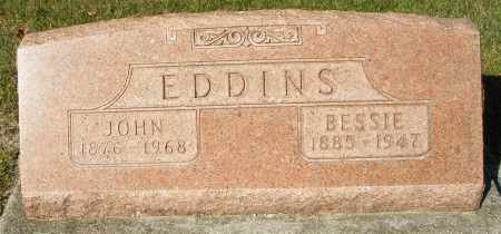 EDDINS, JOHN - Darke County, Ohio   JOHN EDDINS - Ohio Gravestone Photos