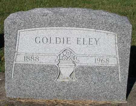 ELEY, GOLDIE - Darke County, Ohio | GOLDIE ELEY - Ohio Gravestone Photos