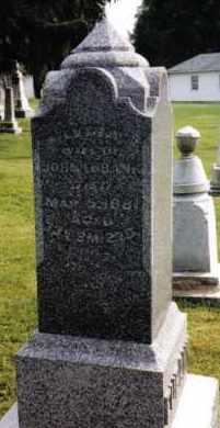 EUBANK, LYDIA - Darke County, Ohio   LYDIA EUBANK - Ohio Gravestone Photos