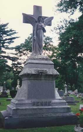 FENNE, HEADSTONE - Darke County, Ohio   HEADSTONE FENNE - Ohio Gravestone Photos