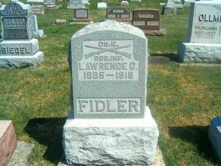 FIDLER, LAWRENCE - Darke County, Ohio | LAWRENCE FIDLER - Ohio Gravestone Photos