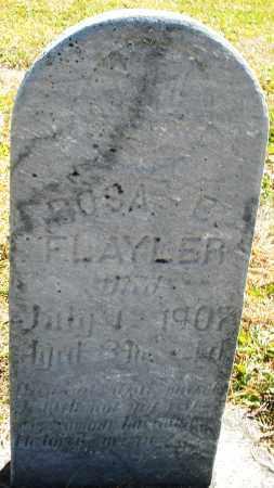 FLAYER, ROSA - Darke County, Ohio   ROSA FLAYER - Ohio Gravestone Photos