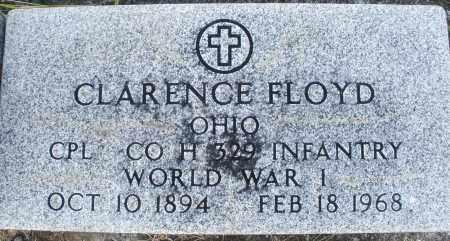FLOYD, CLARENCE - Darke County, Ohio | CLARENCE FLOYD - Ohio Gravestone Photos