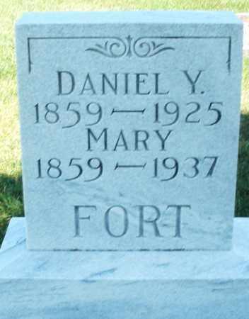 FORT, DANIEL Y. - Darke County, Ohio   DANIEL Y. FORT - Ohio Gravestone Photos