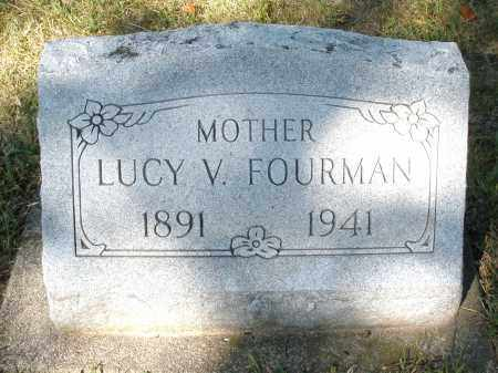 FOURMAN, LUCY V. - Darke County, Ohio | LUCY V. FOURMAN - Ohio Gravestone Photos