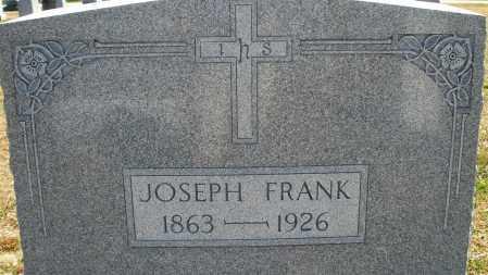FRANK, JOSEPH - Darke County, Ohio   JOSEPH FRANK - Ohio Gravestone Photos