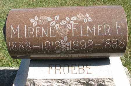 FROEBE, M. IRENE - Darke County, Ohio | M. IRENE FROEBE - Ohio Gravestone Photos