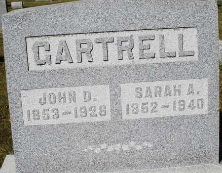 GARTRELL, SARAH A. - Darke County, Ohio | SARAH A. GARTRELL - Ohio Gravestone Photos