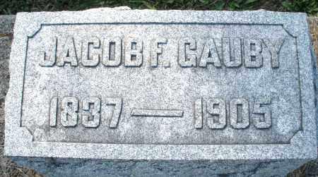 GAUBY, JACOB F. - Darke County, Ohio | JACOB F. GAUBY - Ohio Gravestone Photos