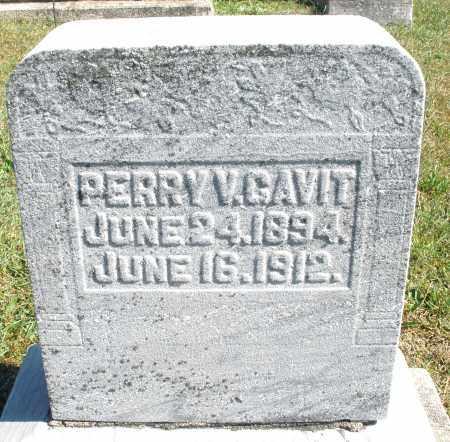 GAVIT, PERRY V. - Darke County, Ohio   PERRY V. GAVIT - Ohio Gravestone Photos