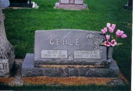 GEHLE, FLORENCE M. - Darke County, Ohio | FLORENCE M. GEHLE - Ohio Gravestone Photos