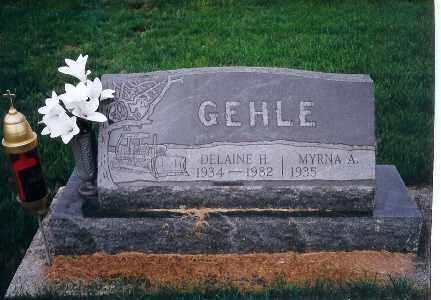 GEHLE, MYRNA A. - Darke County, Ohio   MYRNA A. GEHLE - Ohio Gravestone Photos