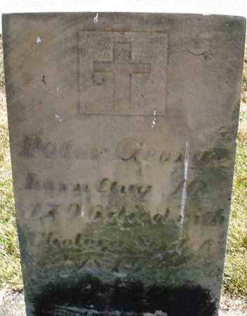 GEORGE, PETER - Darke County, Ohio   PETER GEORGE - Ohio Gravestone Photos