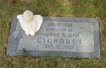GIGANDET, KARIN ANN - Darke County, Ohio   KARIN ANN GIGANDET - Ohio Gravestone Photos