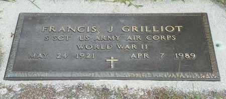 GRILLIOT, FRANCIS J. - Darke County, Ohio | FRANCIS J. GRILLIOT - Ohio Gravestone Photos