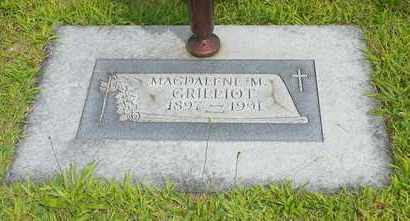 GRILLIOT, MAGDALENE M. - Darke County, Ohio | MAGDALENE M. GRILLIOT - Ohio Gravestone Photos