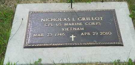 GRILLOT, NICHOLAS L. - Darke County, Ohio | NICHOLAS L. GRILLOT - Ohio Gravestone Photos