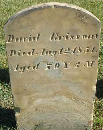 GRISSOM, DAVID - Darke County, Ohio   DAVID GRISSOM - Ohio Gravestone Photos