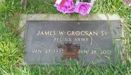 GROGEAN, JAMES W. - Darke County, Ohio | JAMES W. GROGEAN - Ohio Gravestone Photos