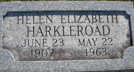 HARKLEROAD, HELEN ELIZABETH - Darke County, Ohio | HELEN ELIZABETH HARKLEROAD - Ohio Gravestone Photos