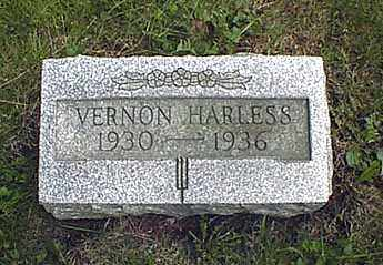 HARLESS, PAUL VERNON - Darke County, Ohio | PAUL VERNON HARLESS - Ohio Gravestone Photos