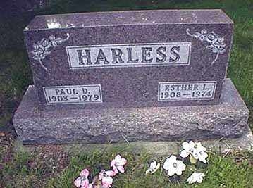 HARLESS, ESTHER LORAINE - Darke County, Ohio | ESTHER LORAINE HARLESS - Ohio Gravestone Photos